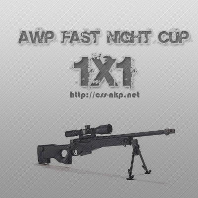 AWP fast CUP 1x1